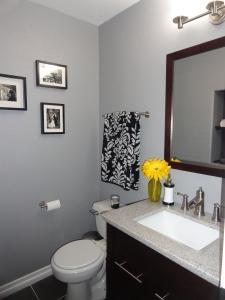 Remodeled Powder Bathroom