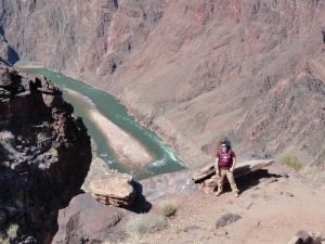 Dan Above the Colorado River