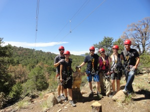 Our Zip Line Group