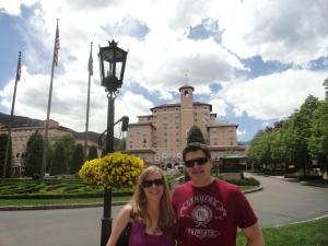In Front of The Broadmoor