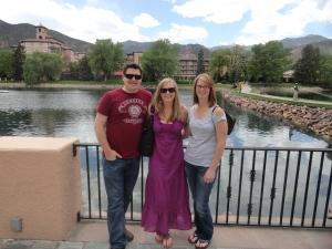 Walking Around Broadmoor Lake