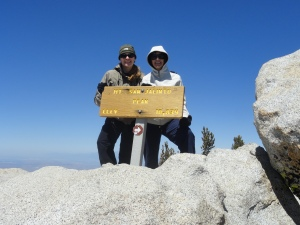 Top of San Jacinto Peak