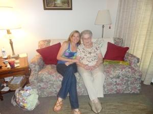 Visiting Grandma in Gibsonburg, OH