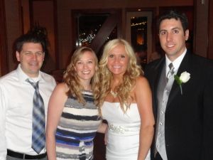 With the Beautiful Bride and Groom