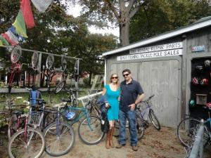 Renting Bikes on Peaks Island