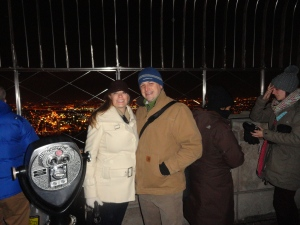On Top of the Empire State Building
