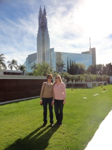 Mom and Me at Christ Cathedral