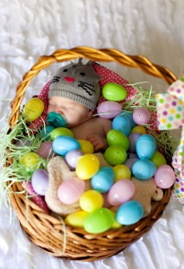 Vivian's First Easter Basket
