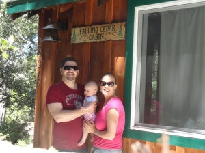 First Family Vacation at Falling Cedar Cabin
