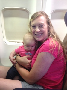 Baby's First Plane Ride!