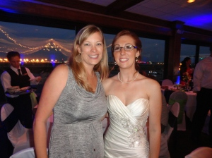 With the Bride, Sarah