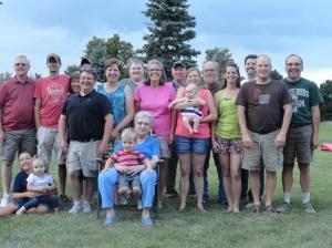 The Whole Dam Family (Minus Matthew)