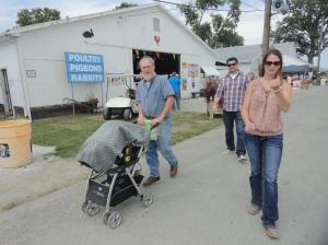 Walking Around the Fair