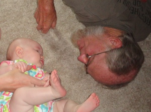 Playing with Papa