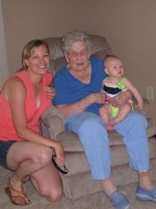 Vivian Meets Her Great Grandma