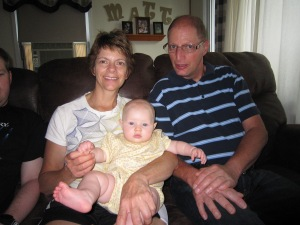 Vivian with Her Grammy and Great Uncle Lee