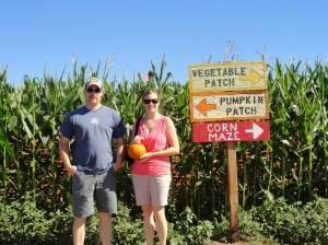 Working Our Way Through the Corn Maze