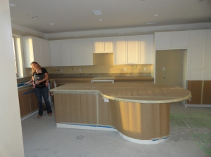 Granite Kitchen Counters Are In!