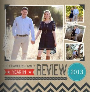 Chambers Family 2013 Photo Book