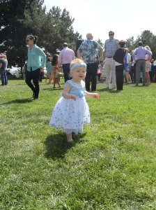 Vivian in Her Easter Dress