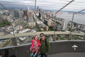 Atop the Space Needle