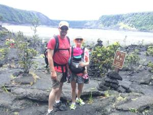Before Hiking Across the Kīlauea Iki Crater