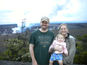 Family Volcano Picture Near Halema'uma'u Crater