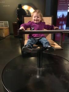Spinning at the Exploratorium