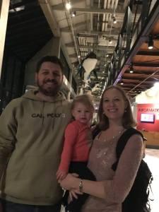 Family Photo at the Aquarium