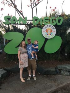 Family Trip to the San Diego Zoo