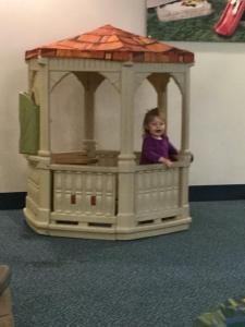Final Playtime at the Toledo Airport Before Flying Home to California