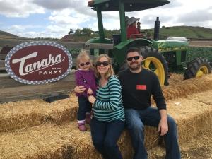 Family Pic at Tanaka Farms