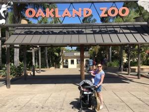 Oakland Zoo Entrance