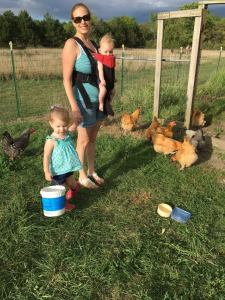 Chicken Chores at Papa's