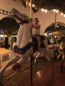 Seaport Village Carousel Ride