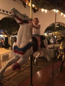 Seaport Village Carousel Ride