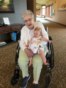 Lillian at Grandma's 90th Birthday Party