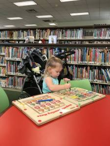 Playing After Library Storytime