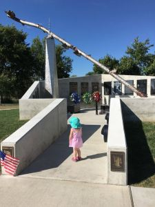 Vising the New 9/11 Memorial at Williams Park in Gibsonburg