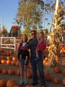 Our Family at Pumpkin City
