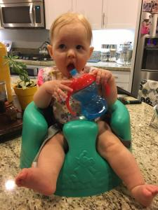 Practice with a Sippy Cup