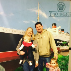 Aboard The Queen Mary