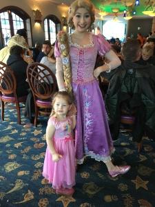 Vivian and Rapunzel